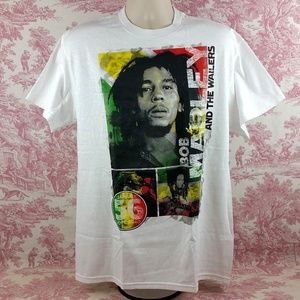 Bob Marley and The Wailers T-Shirt Size L Jamaica